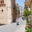 Stock Photo: Late baroque style Rome street in Syracuse, Italy