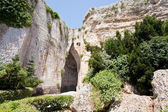 Cave Ear of Dionysius in Syracuse, Italy — Stock Photo