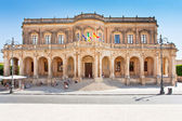 View of the Noto town hall — Stock Photo