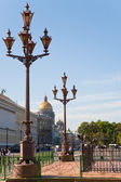 Square in St.Petersburg, Russia — Stock Photo