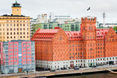Hotels in Stockholm, Sweden — Stock Photo
