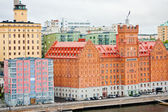Elite Hotel Marina Tower in Stockholm — Stock Photo
