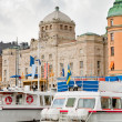 View on Royal Dramatic Theater, Stockholm — Stock Photo