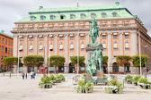 Густав Адольф Торг (Густав Адольф площади), Стокгольм, Швеция — Стоковое фото