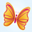 Beatiful butterfly — Stock Vector
