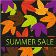 Stock Vector: Summer sale