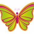 Butterfly vector — Stock Vector