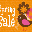 Royalty-Free Stock Vector Image: Spring sale
