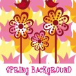 Royalty-Free Stock Vector Image: Spring background