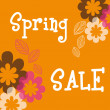 Stock Vector: Spring sale
