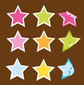 Yıldız vektör — Stok Vektör
