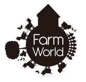 Farm world — Stock Vector