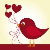 Love bird — Stock Vector