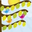 Royalty-Free Stock Imagen vectorial: Tree cartoon