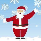 Santa claus vector — Stock Vector