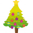 Tree chistmas - Stock Vector