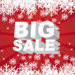Royalty-Free Stock Vector Image: Big sale christmas