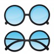 Nerd glasses — Stock vektor