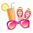 Royalty-Free Stock Vector Image: Summer elements