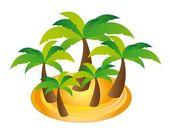 Palmy wektor — Wektor stockowy