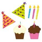 Cupcake — Stock Vector #7909197