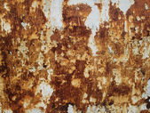 Rusty painted wall (background) — Foto de Stock