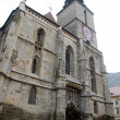 Brasov, Black Church — 图库照片
