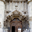 Entrance to Black Church, Brasov — Stockfoto #7122621