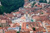 Old center of Brasov city — Stock Photo
