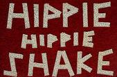 Hippie hippie shake — Stock Photo