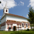 Stock Photo: Brancoveanu church in Okna Sibiului, Romania