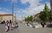 Center of Cluj-Napoca — Stock Photo