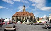 Orthodoxe kathedraal in cluj. — Stockfoto