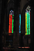 Glass windows shining — Stock Photo