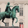 Stock Photo: Equestrimonument vienna