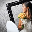 Stock Photo: Beautiful Bride Smile