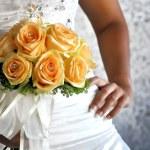 BRIDE BOUQUET — Stock Photo