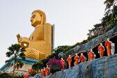 Buddha in Dambulla — Stock Photo