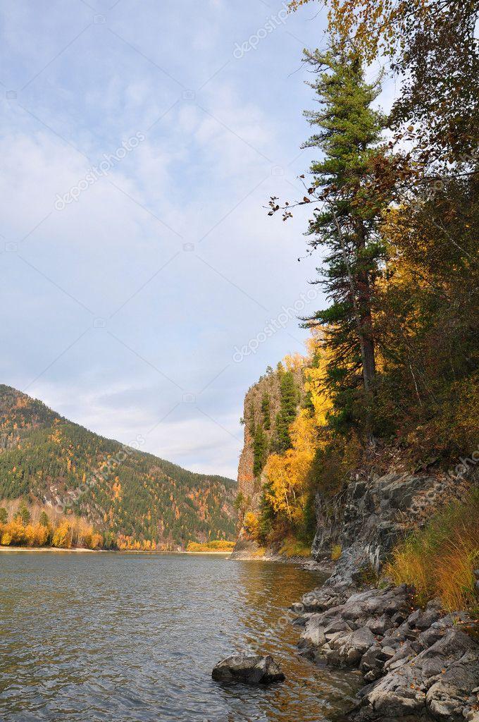 Золотая осень в Абакане  okru