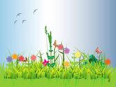 Spring — Stock Vector