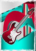 Hudební události navržen plakát. vektorové ilustrace. — Stock vektor