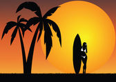 Tropikalny raj — Zdjęcie stockowe
