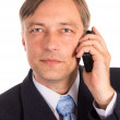 Businessman with a phone — Stock Photo #6822384