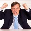 Angry businessman portrait — Stock Photo #6831303