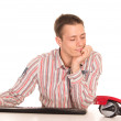 Guy at work — Stock Photo #6874623