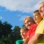 Nice family portrait — Stock Photo #6938921