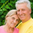 Aged cute couple - Stockfoto