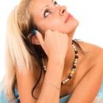 Nice blonde portrait — Stock Photo