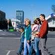 Family at town — Stock Photo #7007894