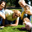 Family at park - Stock Photo